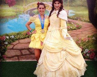 Belle (Disney's Beauty & the Beast) inspired adult running costume
