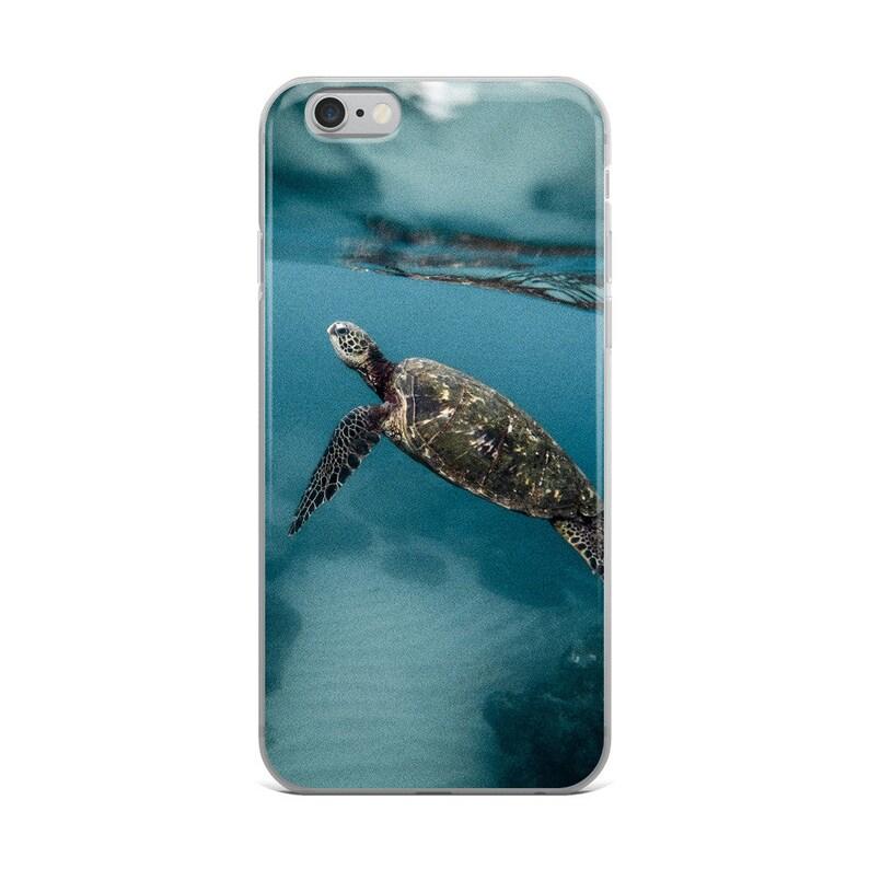 competitive price 78cc6 3239d Sea Turtle iPhone Case, iPhone 6/6s, iPhone 6/6s Plus, iPhone 7/8, iPhone  7/8 Plus, iPhone X, Sea Turtle Phone Case, Ocean Phone Case, Water