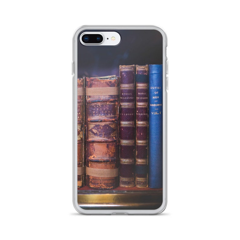 online store b11a4 315cc Book iPhone Case, iPhone 6/6s, iPhone 6/6s Plus, iPhone 7/8, iPhone 7/8  Plus, iPhone X, Book Phone Case, Book Lover Phone Case, Nerd Case