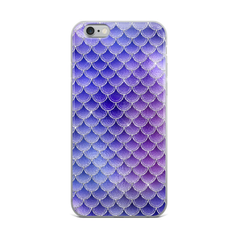 quality design 69f73 e9d04 Purple Mermaid Scales iPhone Case, iPhone 6/6s, iPhone 6/6s Plus, iPhone  7/8, iPhone 7/8 Plus, iPhone X, Mermaid Phone Case, Purple Case