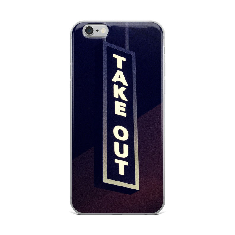 low priced 81a30 25b7c Take Out iPhone Case, iPhone 6/6s, iPhone 6/6s Plus, iPhone 7/8, iPhone 7/8  Plus, iPhone X, Aesthetic Phone Case, Food Phone Case