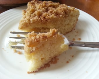 Coffee cake rich and moist gourmet homemade