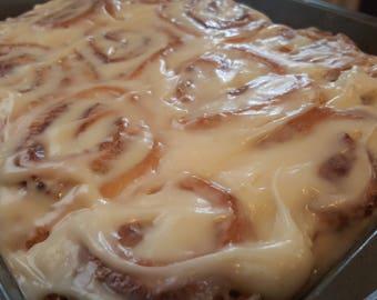 Homemade CINNAMON ROLLS Gourmet