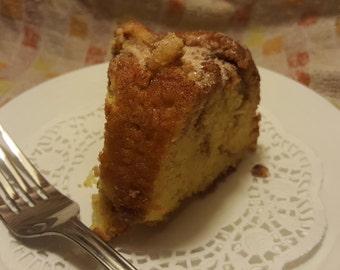Friendship Coffee Cake Bundt Cake, Rich, Delicious, moist, Gourmet, cinnamon coffee Bundt cake