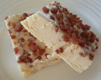 MAPLE BACON FUDGE Gourmet Candy Fudge, maple fudge, bacon fudge