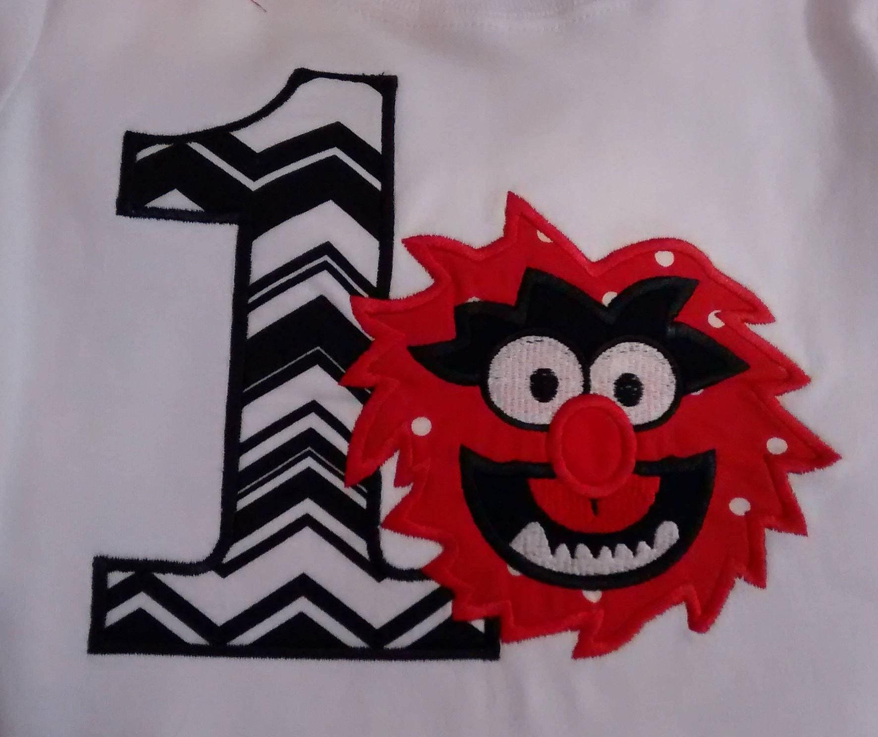507ae311 Personalized Monster Birthday Shirt | Etsy