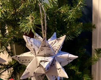 Music Ornament - Origami