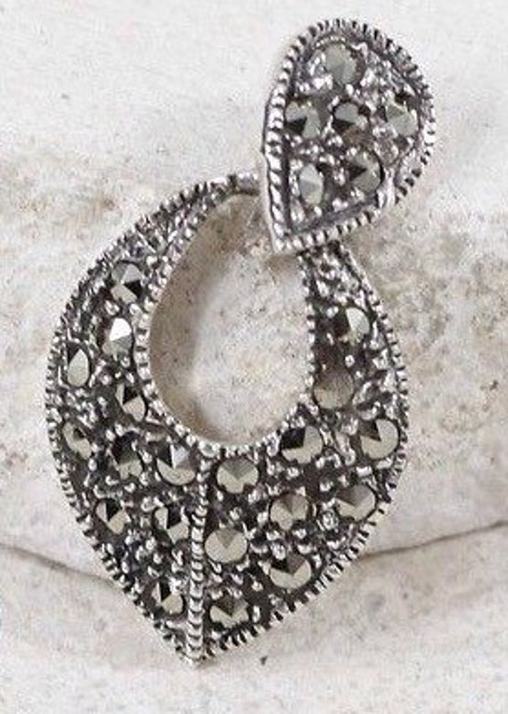 Sterling Silver Necklaces / Marcasite Necklaces /