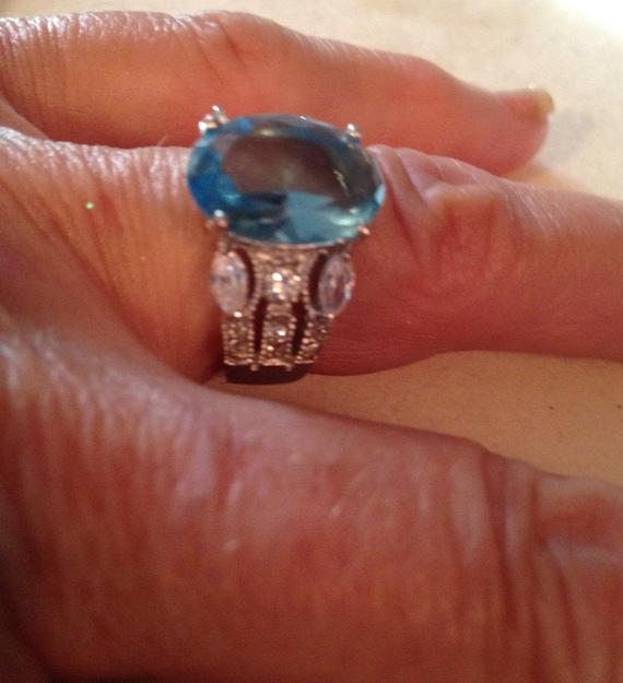 Multistone Rings / Vintage Rings / Sterling Silver