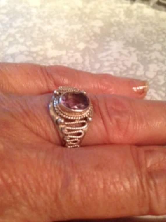 Vintage Rings / Amethyst Rings / Birthstone Rings