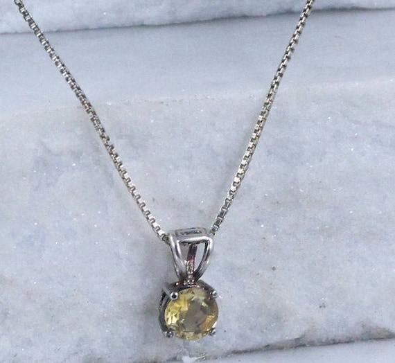 Sterling Silver Necklaces / Citrine Necklaces (Ite