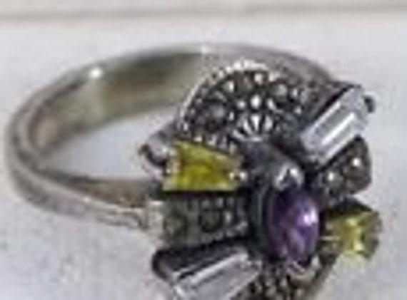 Vintage Rings / Multistone Rings / Citrine Rings /