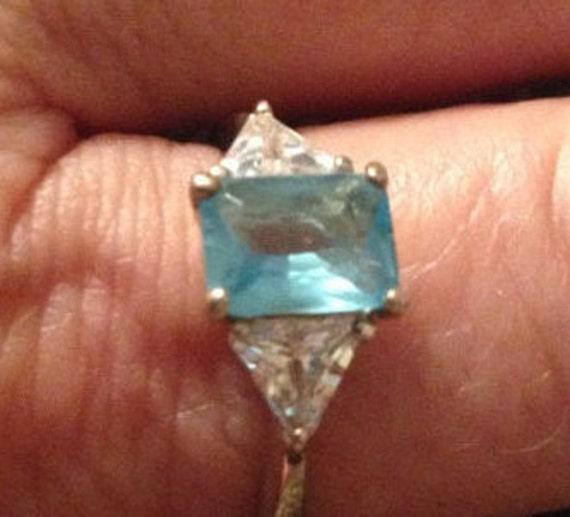Vintage Rings / Multistone Rings / Sterling Silver