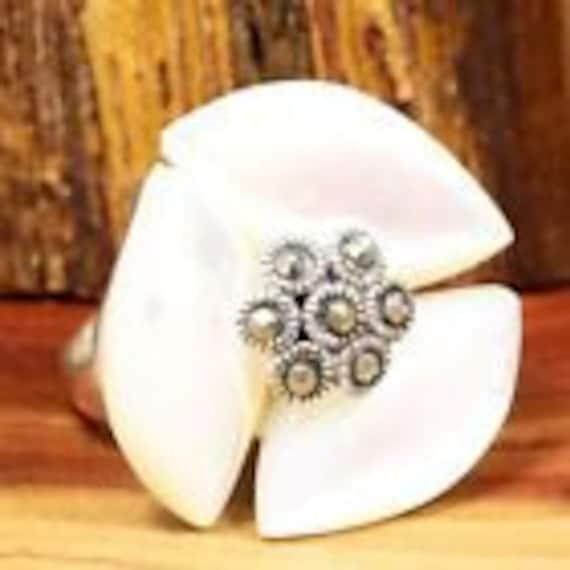 Pearl Rings / Vintage Rings / Marcasite Rings / St