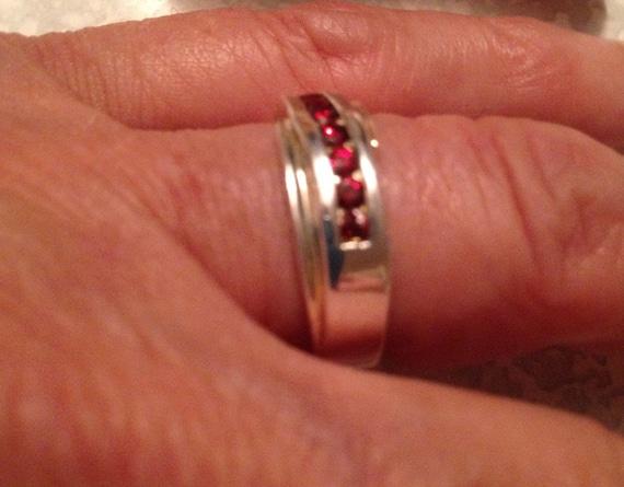 Vintage Rings / Garnet Rings / Multistone Rings /