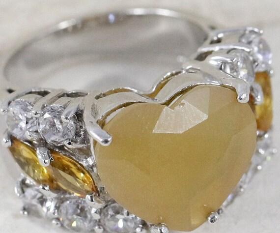 Heart Rings / Vintage Rings / Mothers Rings / Chal