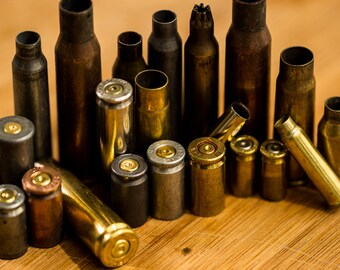 Grab Bag! One Pound of Assorted Bullet Casings- FREE US SHIPPING!