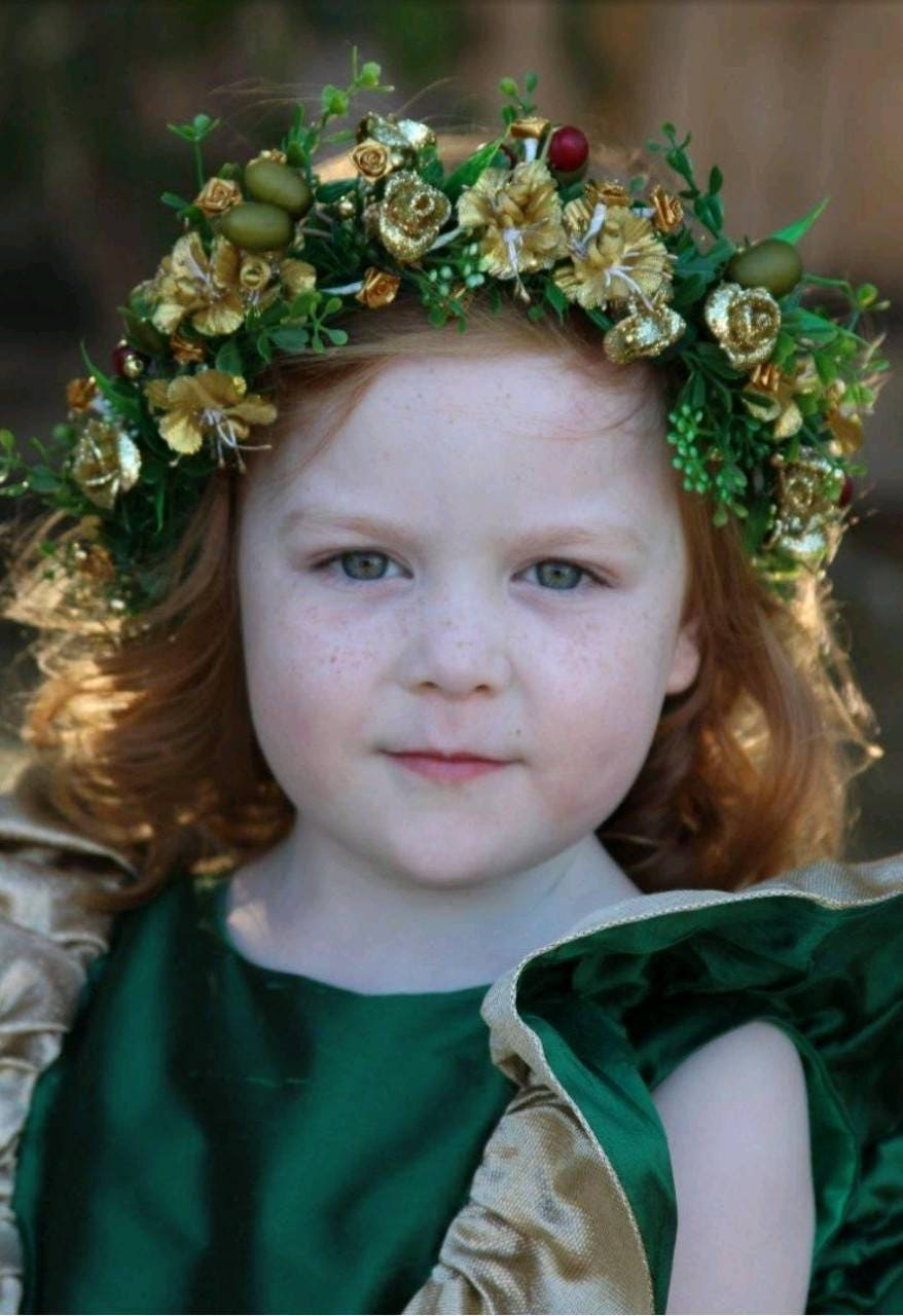 Custom Flower Crown Photography Prop Or Wedding Children And Adult