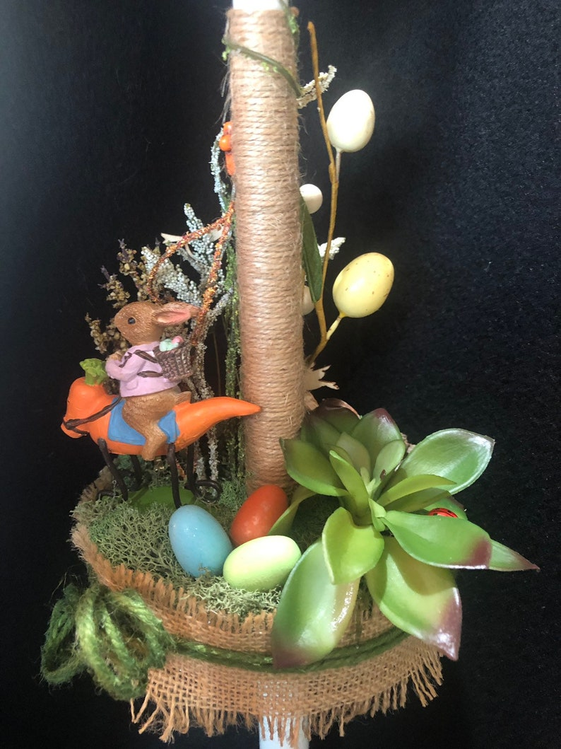 Easter Candle, Easter Lambatha, Palm Sunday Candle, Orthodox Easter Candle,  Greek Easter, Gift Candle, Occasion Candle, Collection 2019