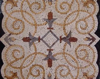 Flower Mosaic Panel - Lara