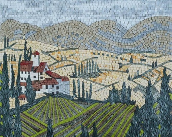Tuscany-Inspired - Mosaic Wall Art