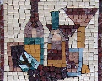 Mosaic Kitchen Backsplash- Moderna