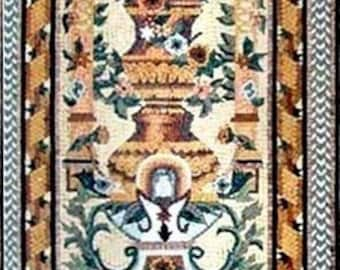 Illustrative Mosaic Tile Rug