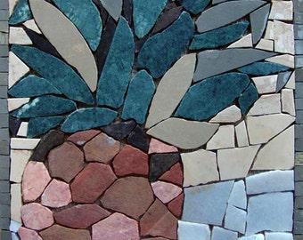 Mosaic Kitchen Backsplash- Ananas