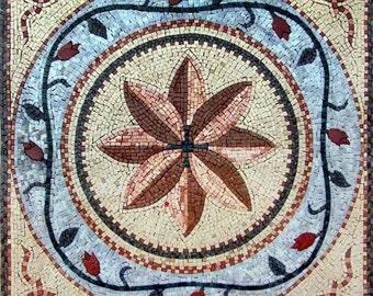 Flower Mosaic Square - Ella II