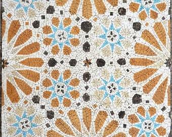 Diseño mosaico - puerta marroquí