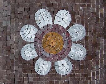 Flower Mosaic Wall Tile - Kalina