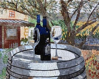 Mosaic Patterns- Wine Barrels