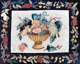 Mosaic Kitchen Backsplash- Eastern Fruits