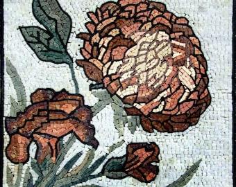 The Allium Flower Mosaic