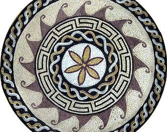 Geometric Flower Mosaic - Florus
