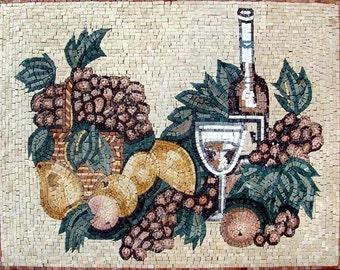 Mosaic Kitchen Backsplash- Kreita