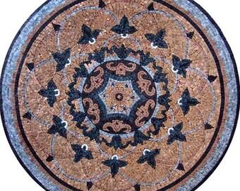 Marble Flower Mosaic - Leah