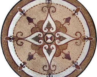 Ornamental Flower Mosaic - Maysam