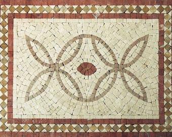 Rectangular Accent Mosaic - Icarus