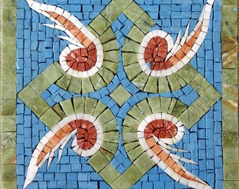 Handmade Accent Mosaic - Sprout