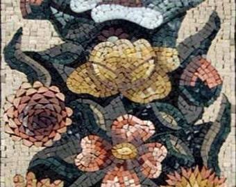 Abstract Amaryllis Mosaic Arrangement
