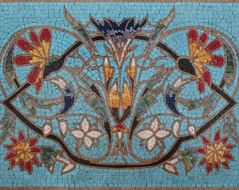 Mosaic Patterns - Turquoise Izmit