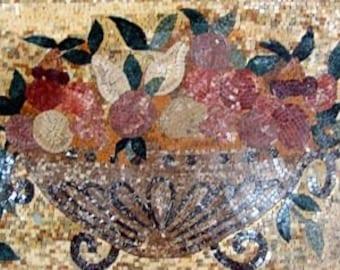 Mosaic Kitchen Backsplash- Easterly