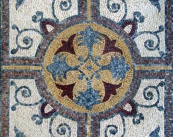Marble Flower Mosaic - Vinia