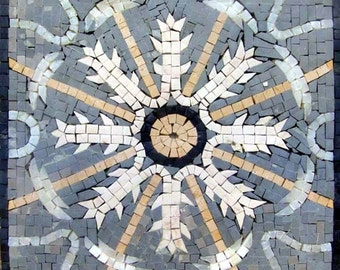 Flower Mosaic Tile - Amare