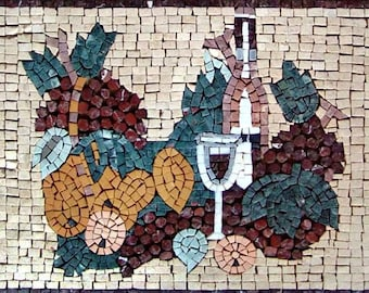 Mosaic Kitchen Backsplash - Opaco