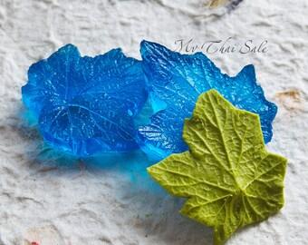 Resin mold  leaf IVY Grape for cold porcelain EVA foam fabric flower making