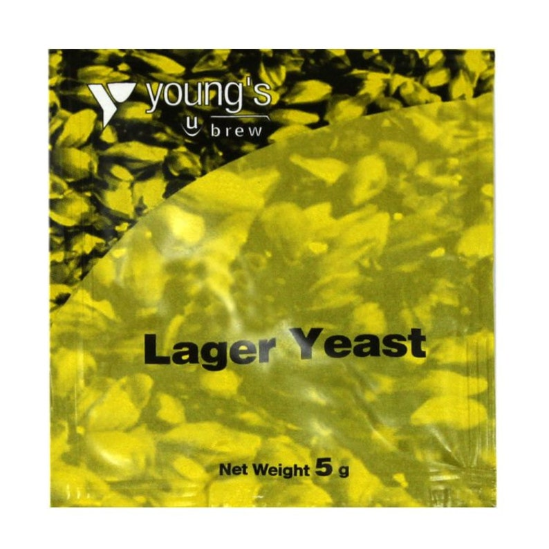 Young/'s Lager Yeast pk 4 Sachets 5g  homebrew lager making