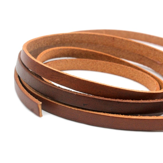 10mm Flat Leather Strip Purple 10mmx2mm Leather Band for Bracelet Making Watchband GF10M79-5
