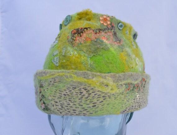 Mossy Green hat